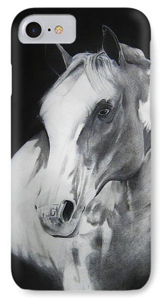 Equestrian Beauty Phone Case by Carrie Jackson