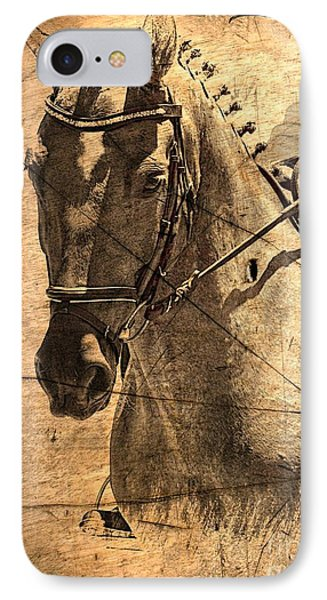 Equestrian IPhone Case by Clare Bevan