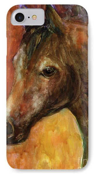 Equine Horse Painting  IPhone Case