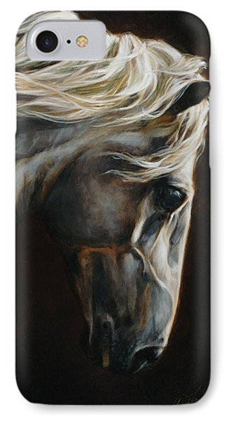 Equus Series I-iii IPhone Case by Heather Theurer