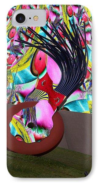 Eraser Phone Case by Tim Allen