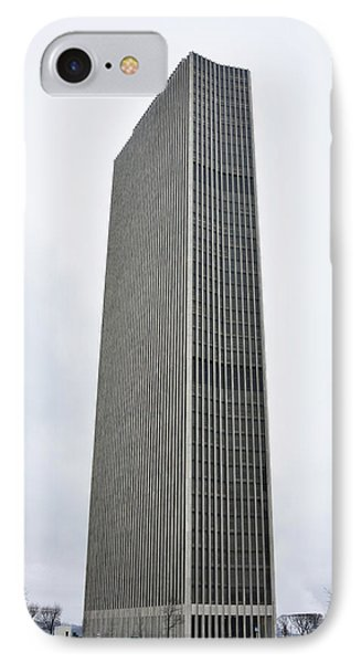 Erastus Corning Tower In Albany New York IPhone Case by Brendan Reals