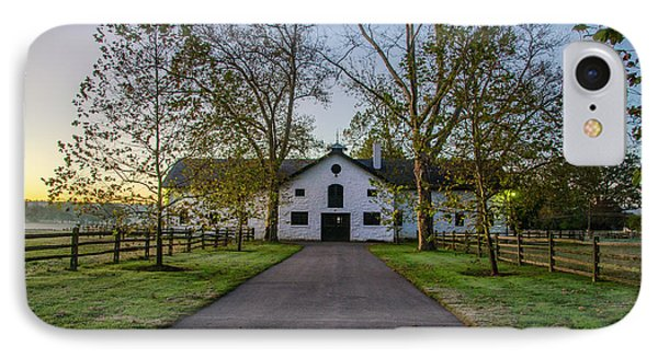 Erdenheim Farm Equestrian Center - Whitemarsh Pa IPhone Case by Bill Cannon