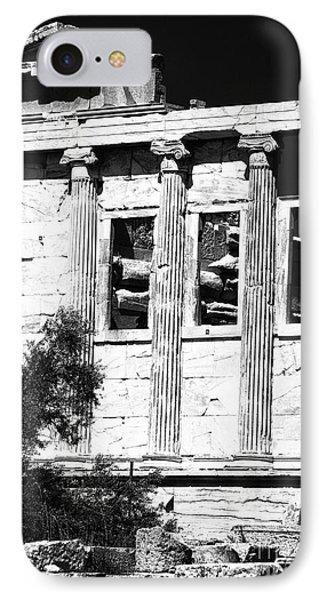 Erechtheum Columns Phone Case by John Rizzuto