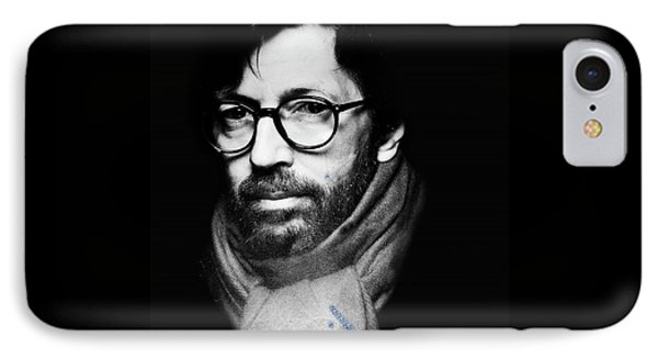 Eric Clapton IPhone Case by Allen Beilschmidt