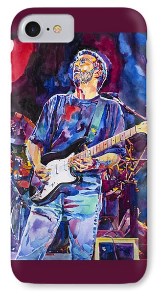 Eric Clapton And Blackie IPhone 7 Case by David Lloyd Glover