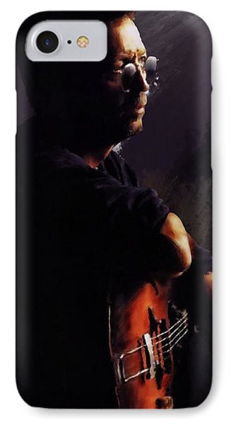 Eric Clapton IPhone Case by Brian Tones