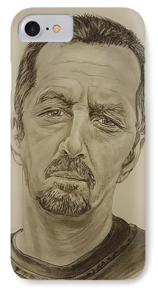 Eric Clapton Crossroads  IPhone Case by David Peninger
