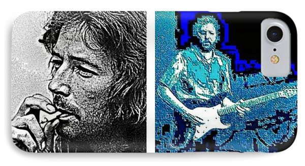 Eric Clapton IPhone Case by Dave Gafford