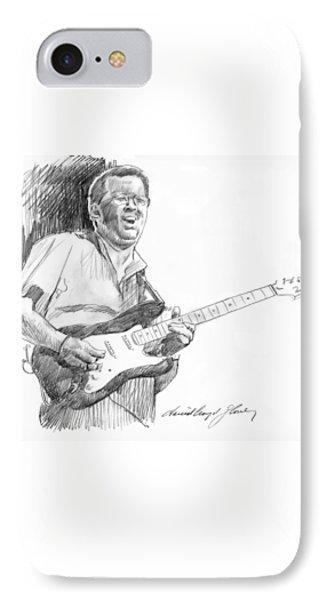 Eric Clapton Jam IPhone 7 Case by David Lloyd Glover