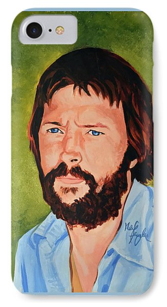 Eric Clapton IPhone Case by Neil Feigeles