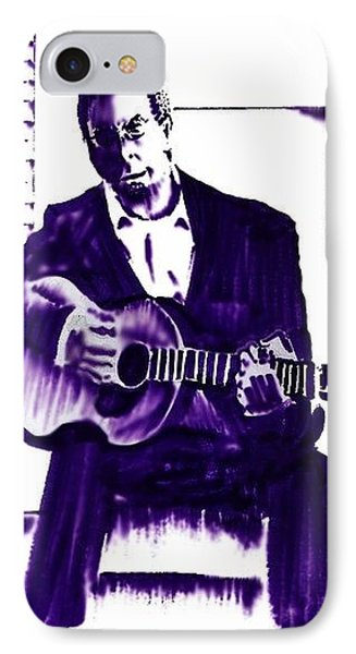 Eric Clapton Phone Case by Seth Weaver