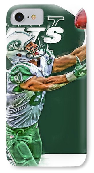 Eric Decker New York Jets Oil Art IPhone Case