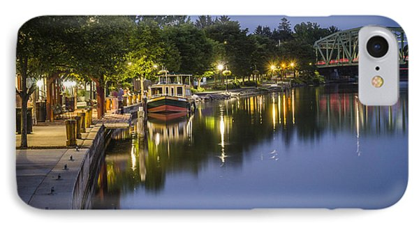 Erie Canal Stroll IPhone Case