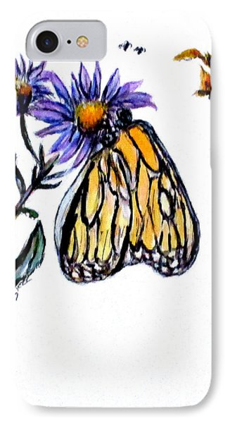 Erika's Butterfly One IPhone Case by Clyde J Kell