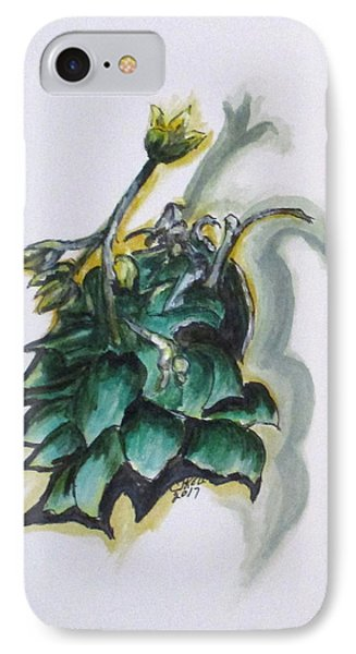 Erika's Spring Plant IPhone Case by Clyde J Kell