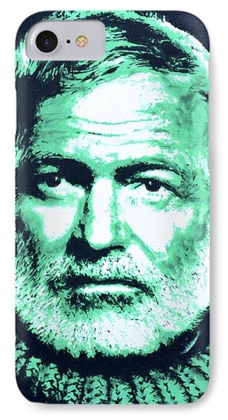 Ernest Hemingway IPhone Case