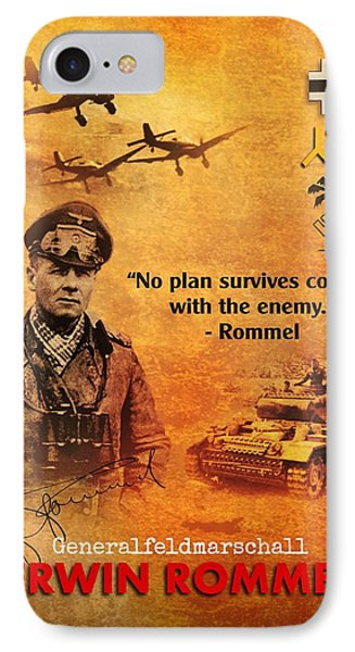 Erwin Rommel Tribute IPhone Case