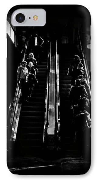 IPhone Case featuring the photograph Escalator No 1 by Brian Carson