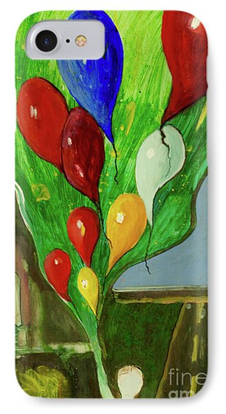 IPhone Case featuring the painting Escape by Paul McKey