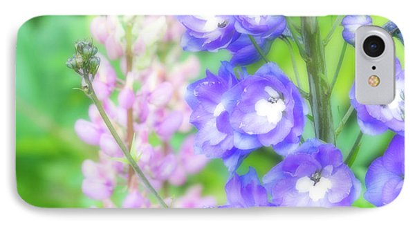 IPhone Case featuring the photograph Escape To The Garden by Bonnie Bruno