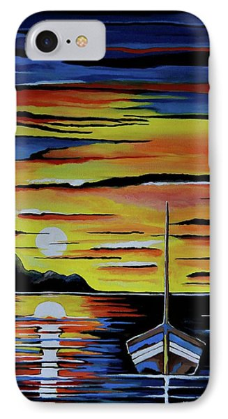 Escape To The Sea IPhone Case by Kathleen Sartoris