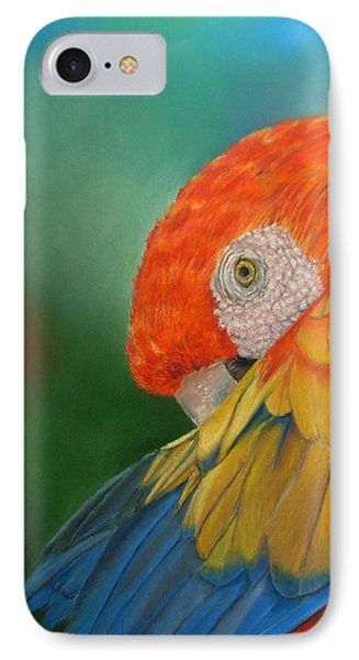 IPhone Case featuring the painting Escondida by Ceci Watson
