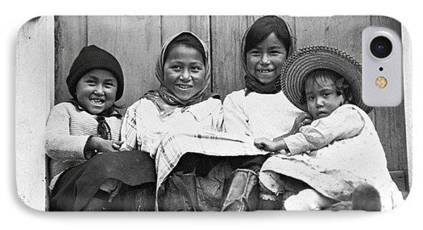 Eskimo Children, 1925 IPhone Case by Granger