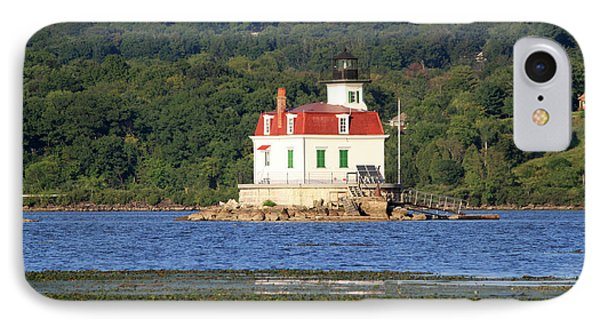 IPhone Case featuring the photograph Esopus Lighthouse In Summer #4 by Jeff Severson