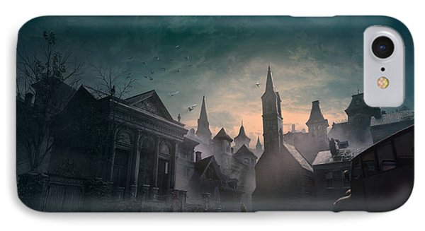 Boston iPhone 7 Case - Esoteric Order Of Dagon by Guillem H Pongiluppi