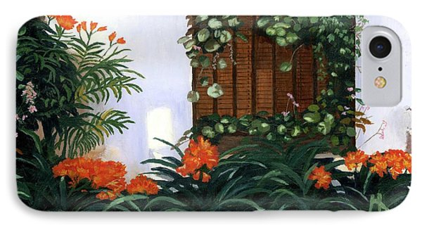 IPhone Case featuring the painting Espana by Lynne Reichhart