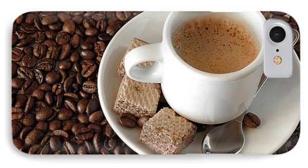 Espresso Coffee Phone Case by Carlos Caetano