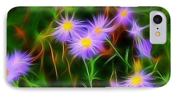 Essence Of Asters IPhone Case