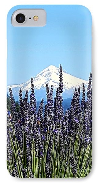Essence Of Lavender IPhone Case by Debra Kaye McKrill