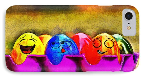 Ester Eggs - Pa IPhone Case by Leonardo Digenio