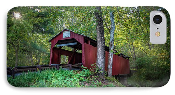 Esther Furnace Bridge IPhone Case by Marvin Spates