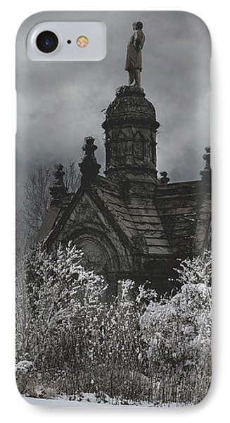 IPhone Case featuring the digital art Eternal Winter by Chris Lord