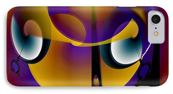 Eternity Clock Phone Case by Helmut Rottler