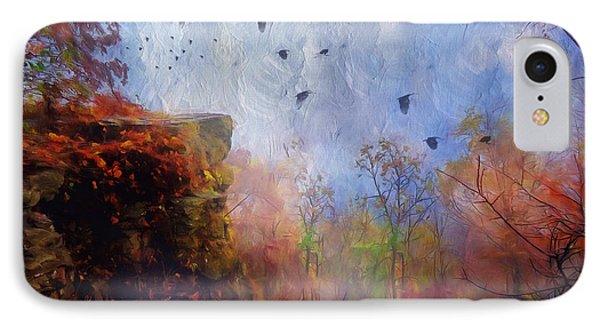 Ethereal Autumn IPhone Case by Georgiana Romanovna
