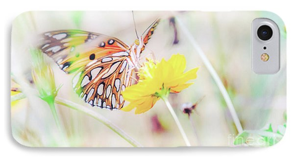 IPhone Case featuring the photograph Ethereal Butterfly by Andrea Anderegg