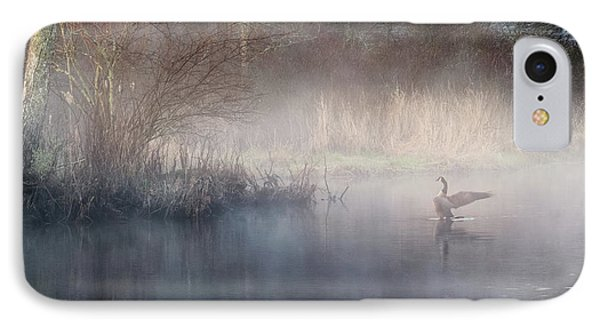 IPhone Case featuring the photograph Ethereal Goose by Bill Wakeley