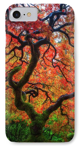 IPhone Case featuring the photograph Ethereal Tree Alive by Darren White
