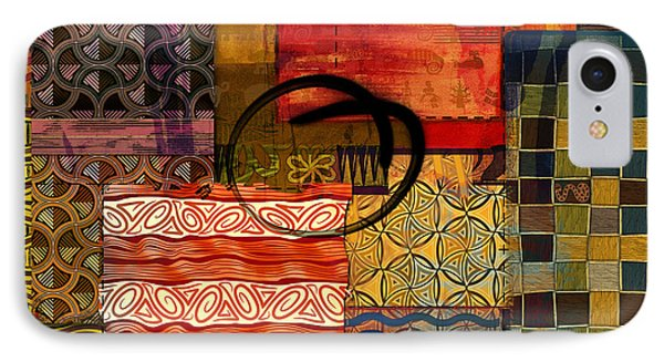 Ethnic Abstract IPhone Case by Bedros Awak