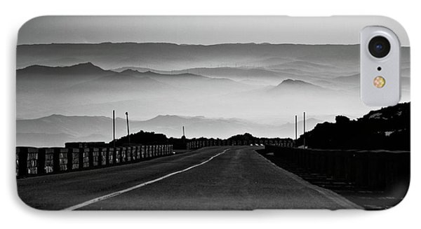 IPhone Case featuring the photograph Etna Road by Bruno Spagnolo