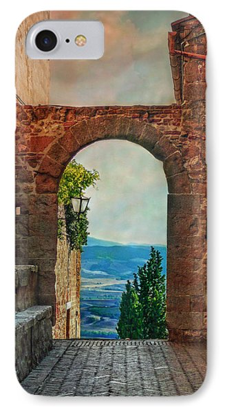 IPhone Case featuring the photograph Etruscan Arch by Hanny Heim