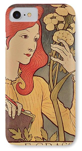 Eugene Grasset IPhone Case by Salon des Cent