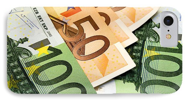 Euro Banknotes IPhone Case by Fabrizio Troiani