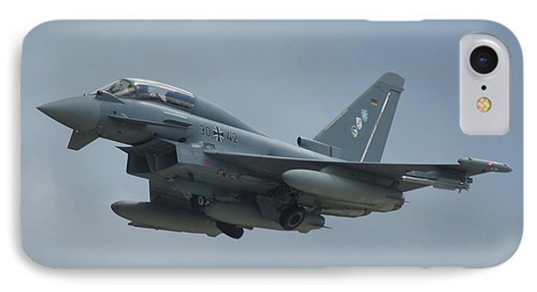 IPhone Case featuring the photograph Eurofighter Ef2000 by Tim Beach
