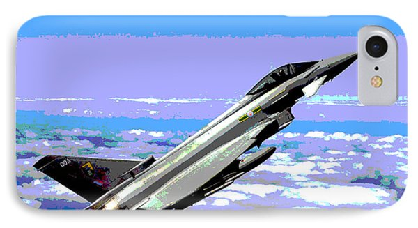 Eurofighter Typhoon IPhone Case by Charles Shoup