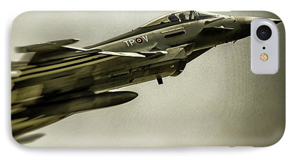 Eurofighter Typhoon IPhone Case by Martin Newman